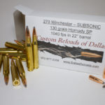 270 Winchester SUBSONICS